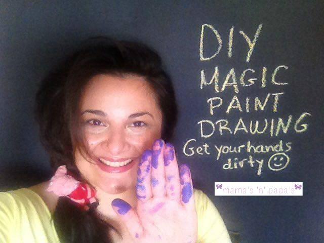 magic paint drawing