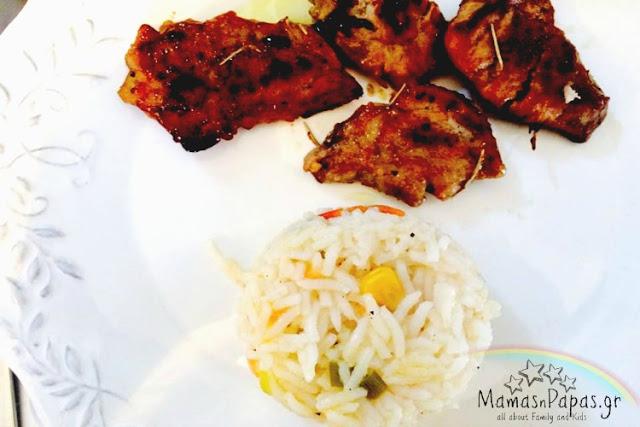 Ψαρονέφρι με σάλτσα κρέμα και σαλάτα Supefood