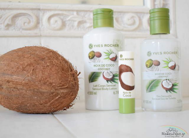 vegetal coconut products mama goes vegetal with yves rocher greece