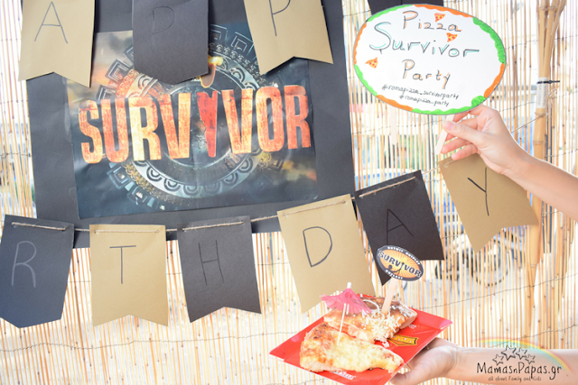 survivor roma pizza party