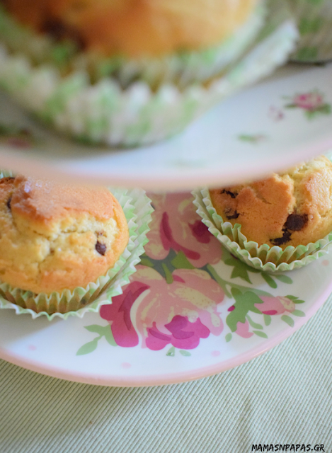 muffins with choco chips