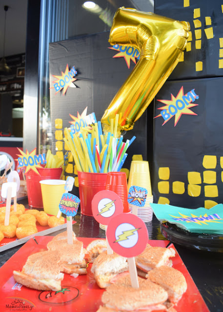 SUPER HEROES PARTY- DINOS 7TH BIRTHDAY PARTY