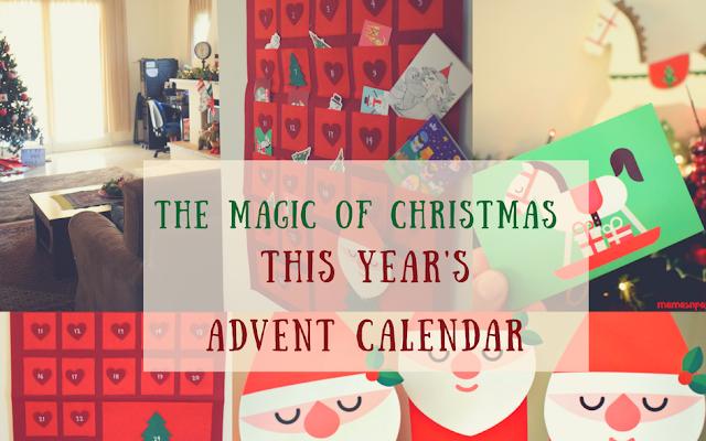Χριστουγεννιάτικο ημερολόγιο αντίστροφης μέτρησης