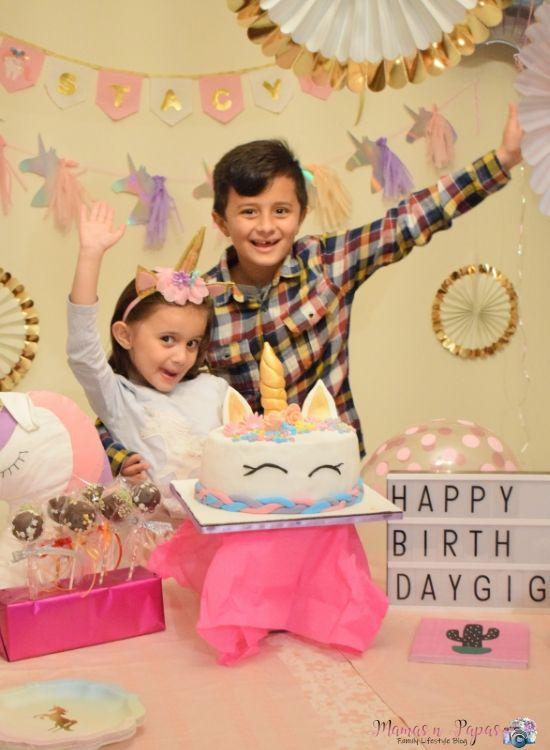 Unicorn Birthday Party Theme