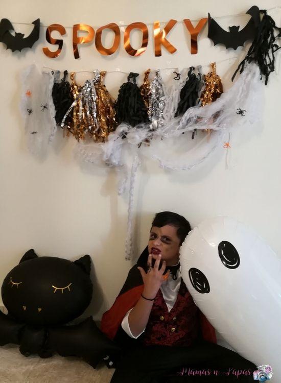 halloween photoshooting