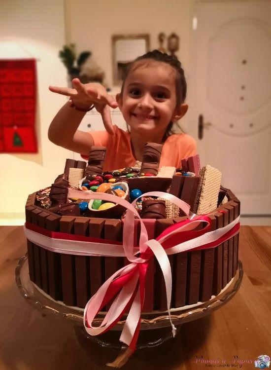 Φτιάξε μόνος σου τούρτα με Kit Kat
