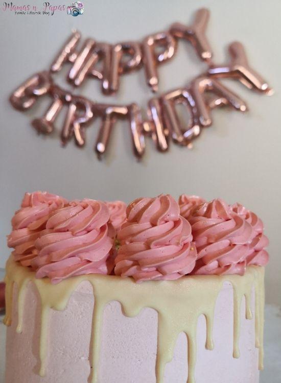 Γενέθλια τούρτα από τα Fresh Patisserie