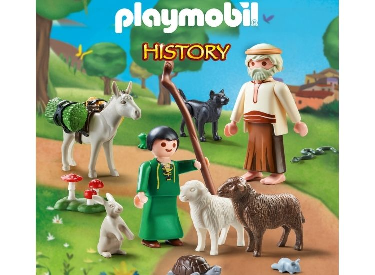 Οι μύθοι του Αισώπου με Playmobil