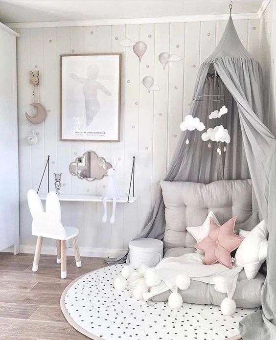Ιδέες και λύσεις για κοριτσίστικο δωμάτιο