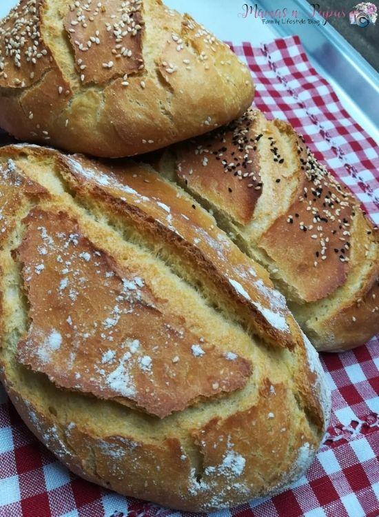 Συνταγή για σπιτικό ψωμί από τη μαμά Αργυρώ!